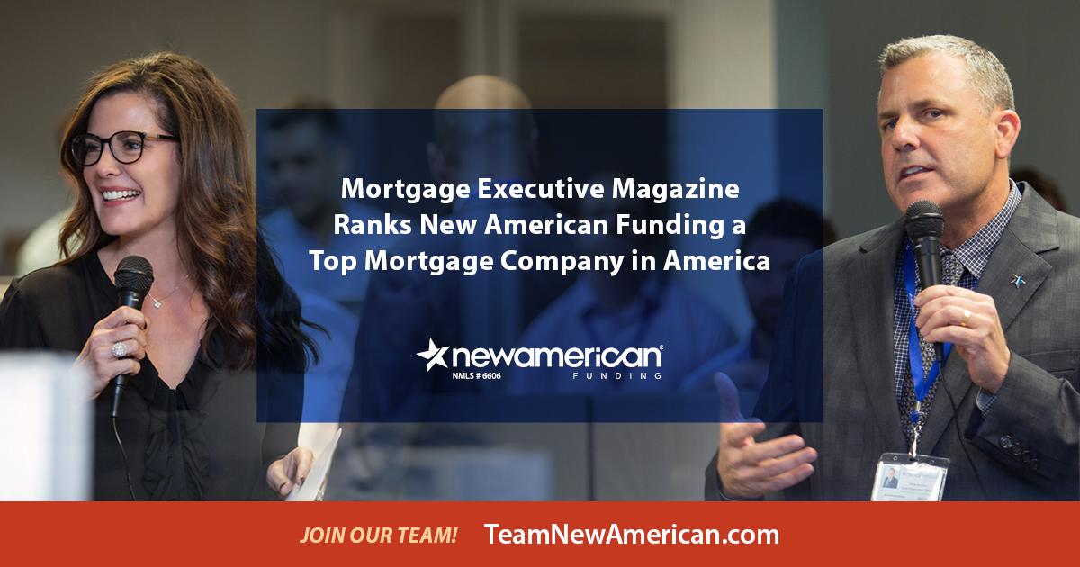 MEM Top Mortgage Company   New American Funding